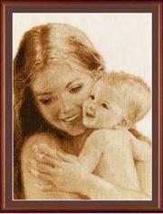 Картина Радость вышивка крестом