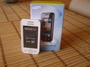 Samsung Wave 525 GT-S5250 (Белый,  полный комплект,  отличное состояние)