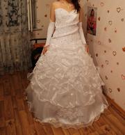 Свадебное платье за 20 000 тенге