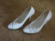 свадебные туфли - 6000 тг,  торг