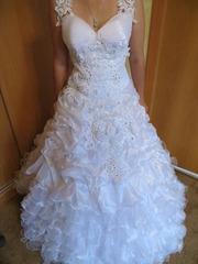 свадебное платье за 30 000 тенге,  торг
