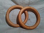 Детские гимнастические кольца деревянные