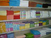 Оптовые продажи российского  домашнего текстиля со склада в Алматы