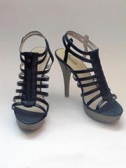 Продам туфли черные,  с ремешками